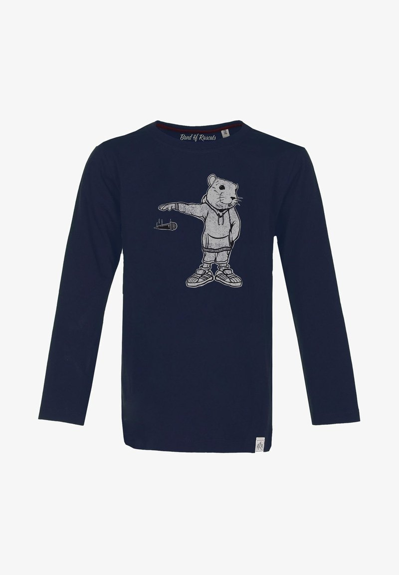 Band of Rascals - MIC DROP - Long sleeved top - navy