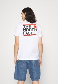 The North Face - SLICE TEE - T-shirt med print - white - 2