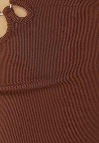 Bershka - Trousers - brown - 4