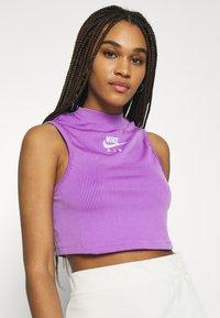 Nike Sportswear - AIR TANK  - Top - violet shock/white - 4