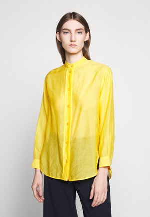 LIDIANE - Button-down blouse - citrus