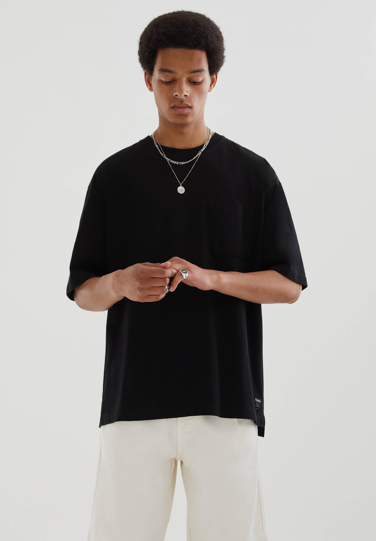 Herren OVERSIZE AUS PREMIUM-GEWEBE - T-Shirt basic
