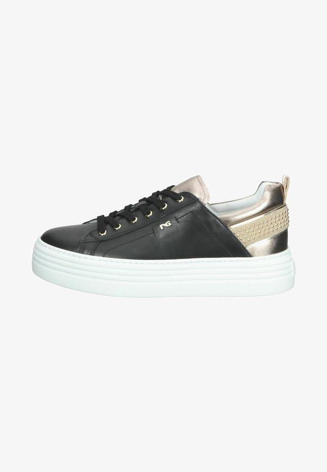 Sneakers laag - nero