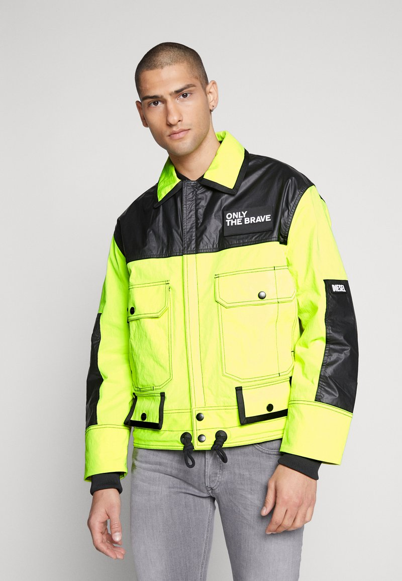Diesel - J-KENDY - Let jakke / Sommerjakker - yellow/black