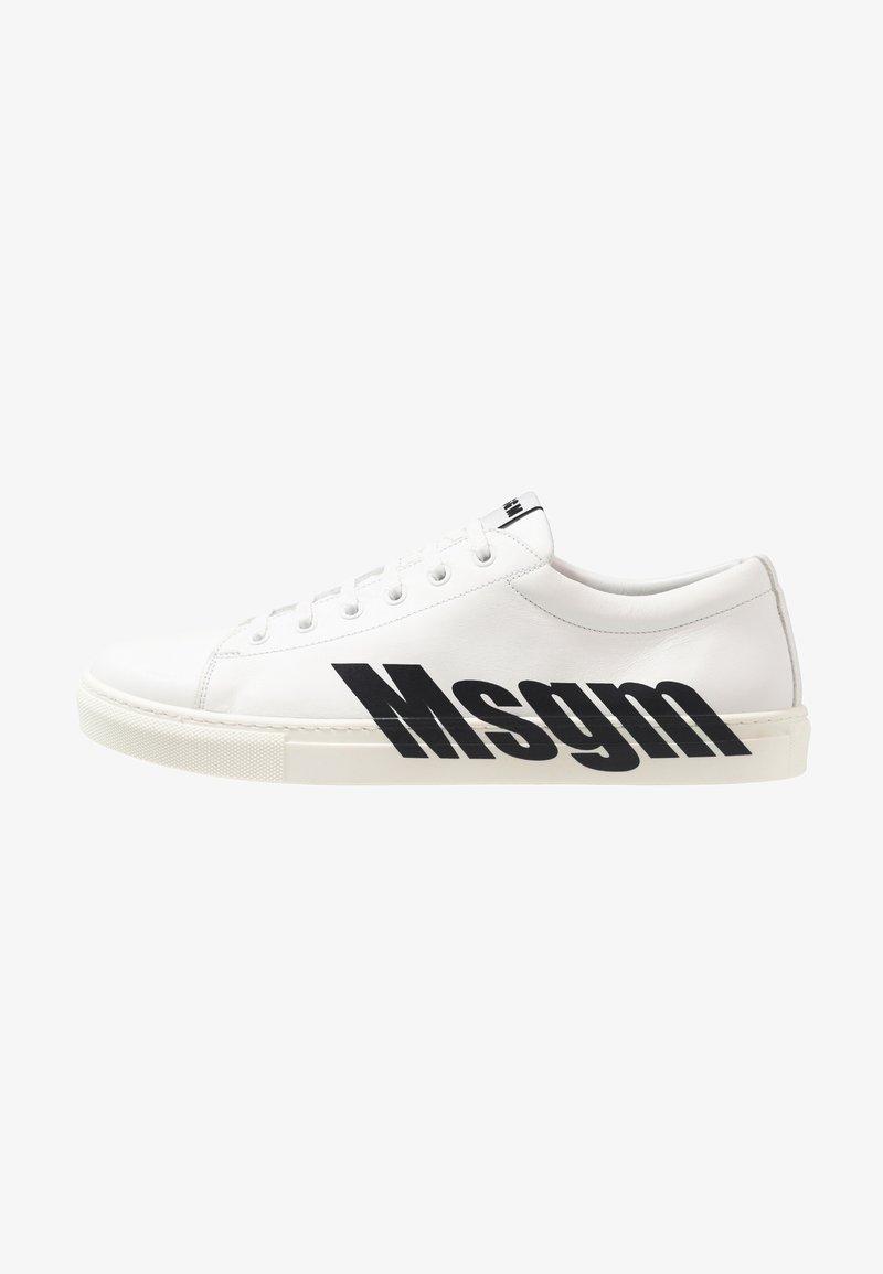 MSGM - Trainers - white/black