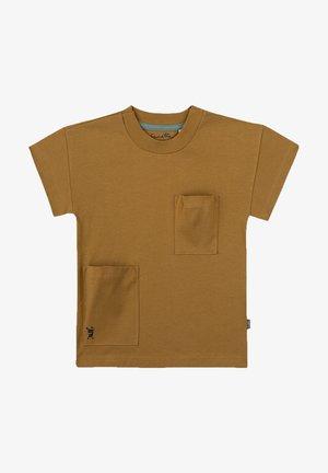 T-shirt print - gelb