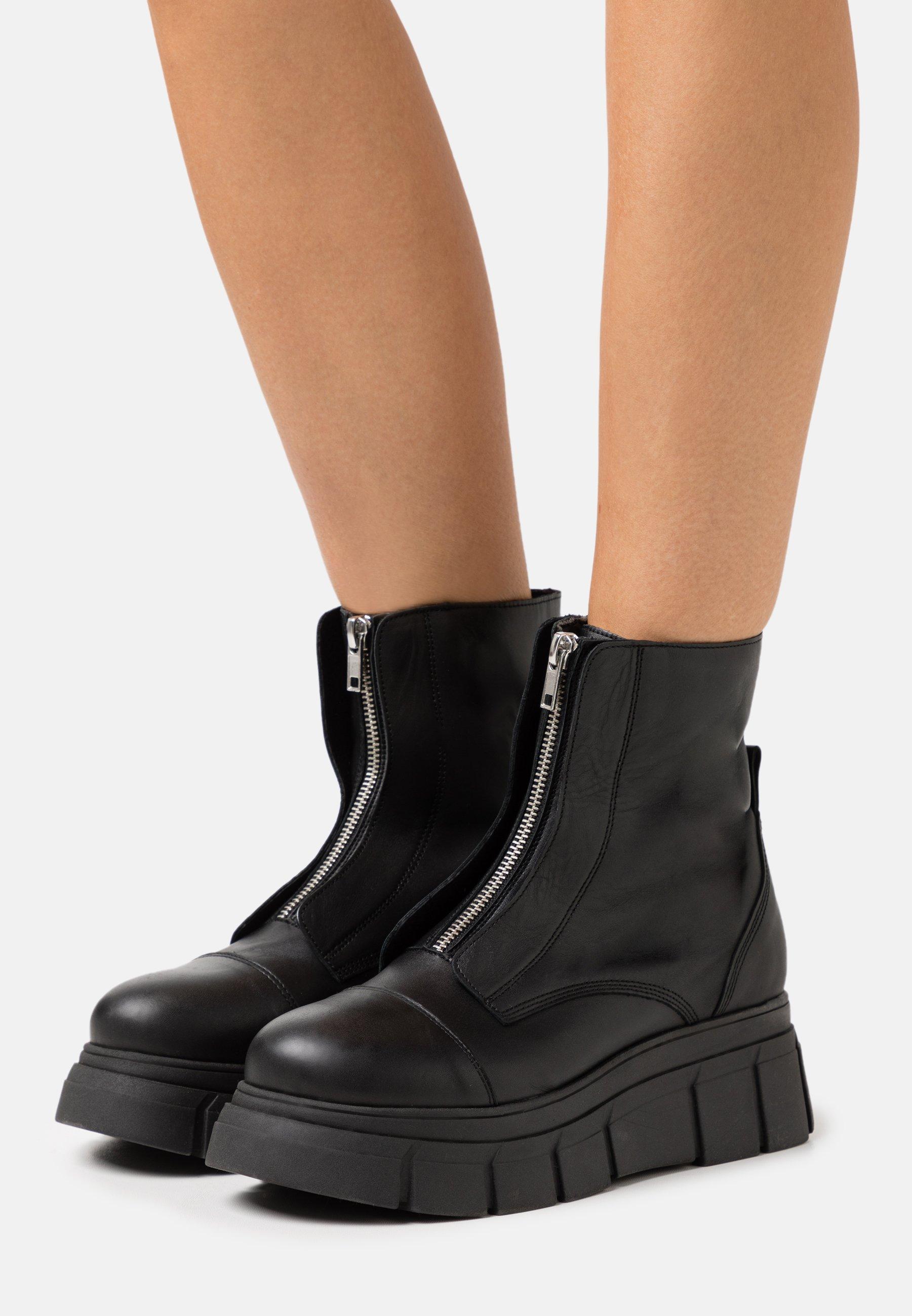 Women BOOT ZIP - Platform ankle boots