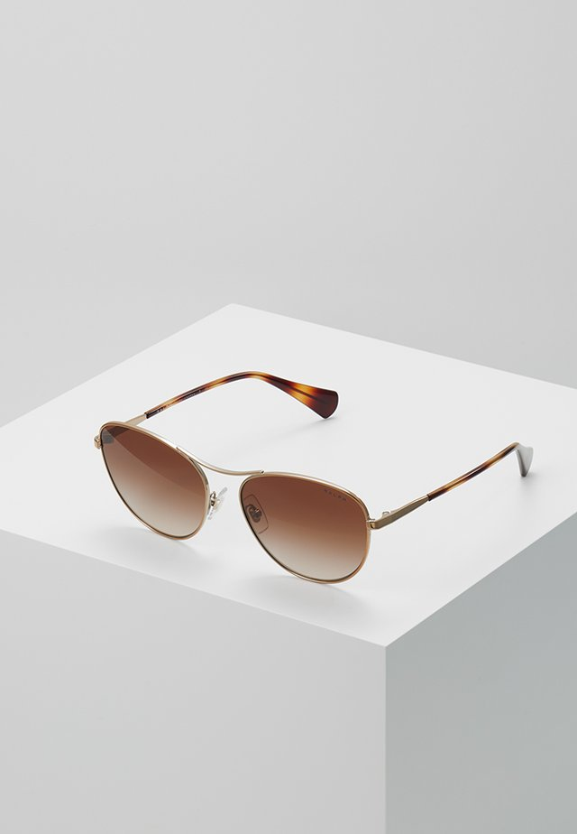 Sunglasses - roségold-coloured