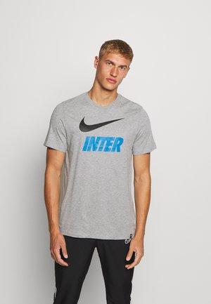 INTER MAILAND TEE GROUND - Club wear - dark grey heather