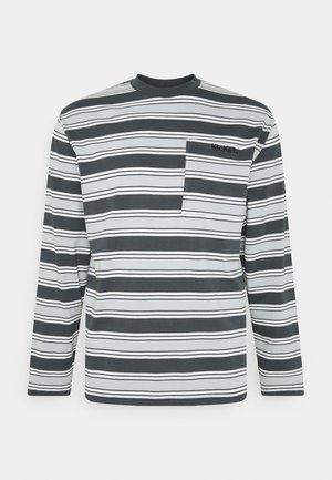 LONGSLEEVE STRIPE TEE - Top sdlouhým rukávem - grey