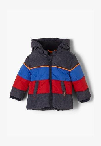Winter jacket - dark blue melange