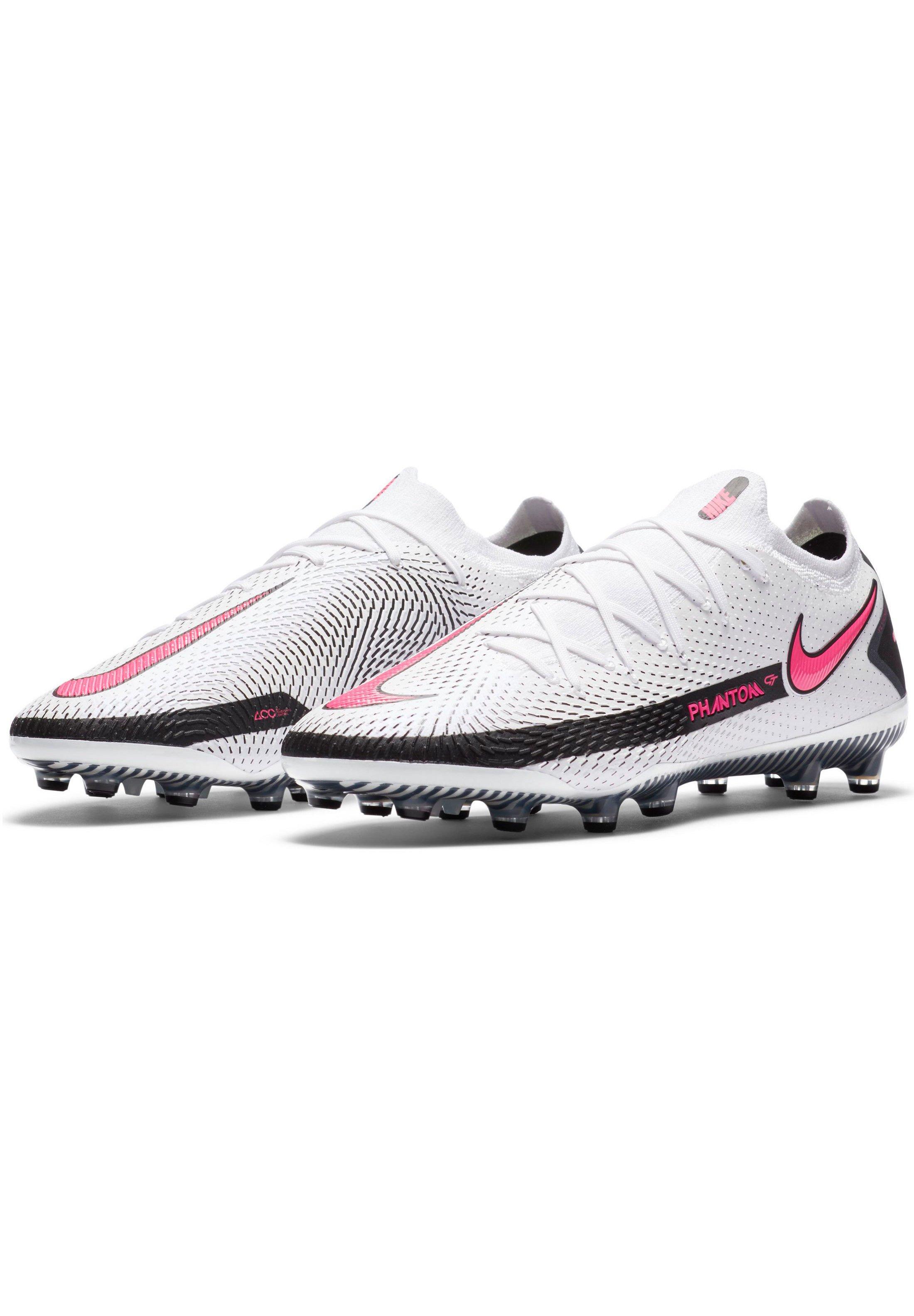 Nike Performance Fußballschuh Nocken - white / pink blast / black/weiß - Herrenschuhe WNZ69