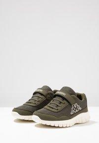 Kappa - FOLLOW - Sports shoes - army/offwhite - 3