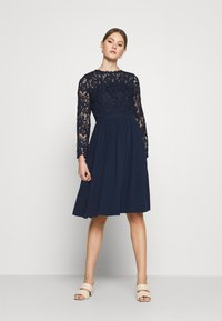 Chi Chi London - LYANA DRESS - Cocktail dress / Party dress - navy - 1
