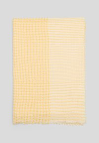 s.Oliver - Scarf - yellow check - 1