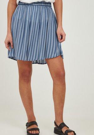 MARRAKECH - A-line skirt - coronet blue
