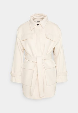 BILLY - Short coat - cream