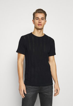 ATKINSON - T-shirt basique - black