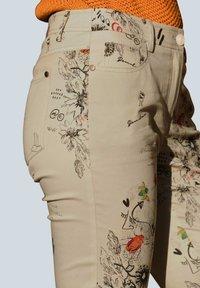 Alba Moda - Trousers - beige,pfirsich,schwarz - 6