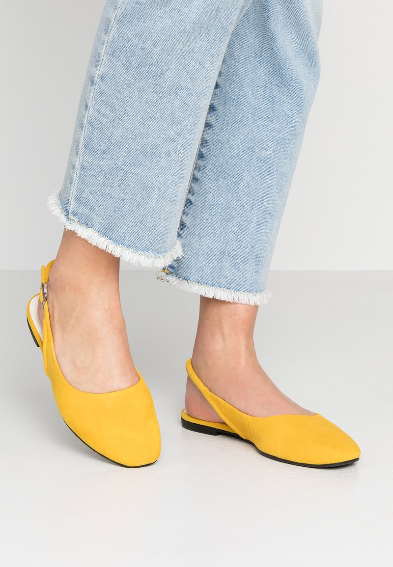Vagabond - AYDEN - Ballerinasko - yellow