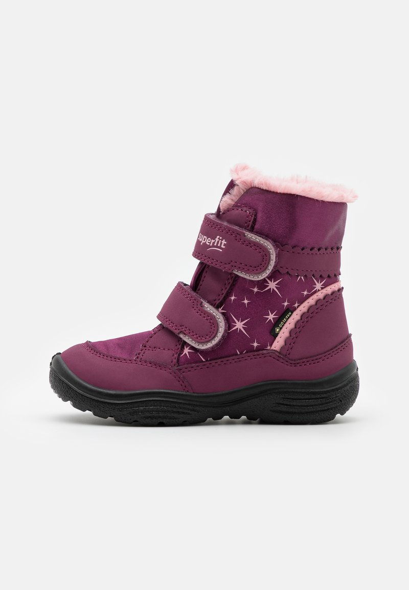 Superfit - CRYSTAL - Winter boots - rot/rosa