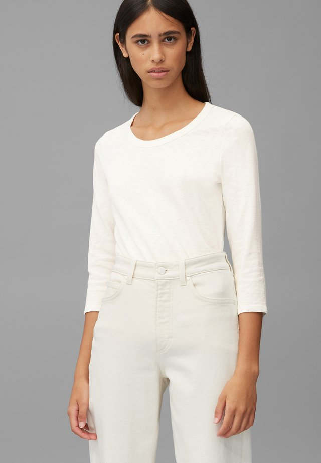 Bluzka z długim rękawem - scandinavian white