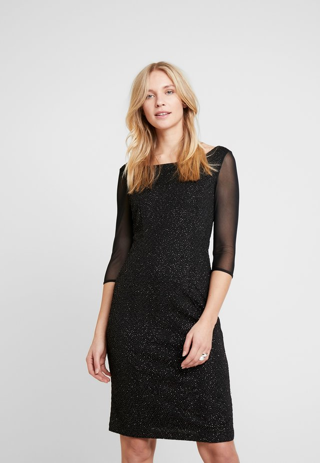KURZ - Robe fourreau - black