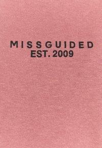 Missguided Petite - HOODY JOGGER SET - Hoodie - rose - 4