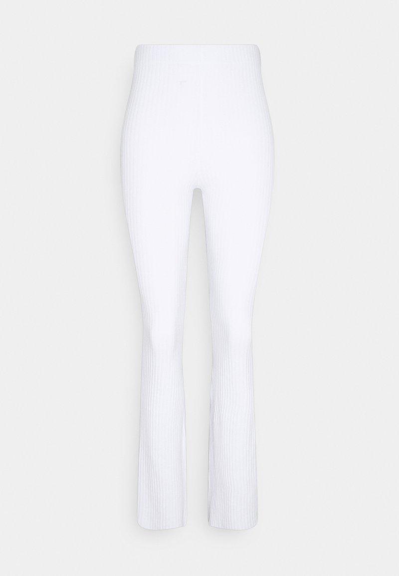 Gina Tricot Tall - BEATA TROUSERS - Kalhoty - white
