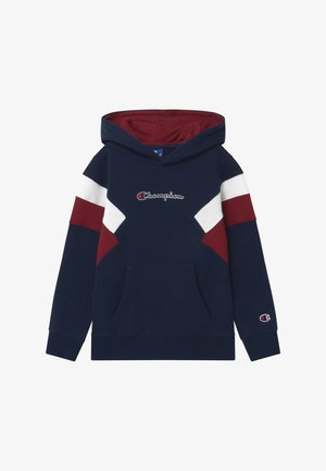 ROCHESTER CHAMPION LOGO HOODED - Mikina s kapucí - dark blue