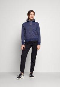Patagonia - FULL ZIP HOODY - Zip-up sweatshirt - navy blue - 1