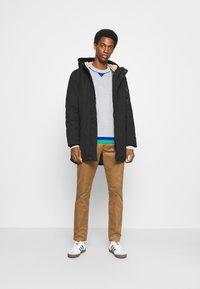 TOM TAILOR DENIM - SOFT  - Winter coat - black - 1