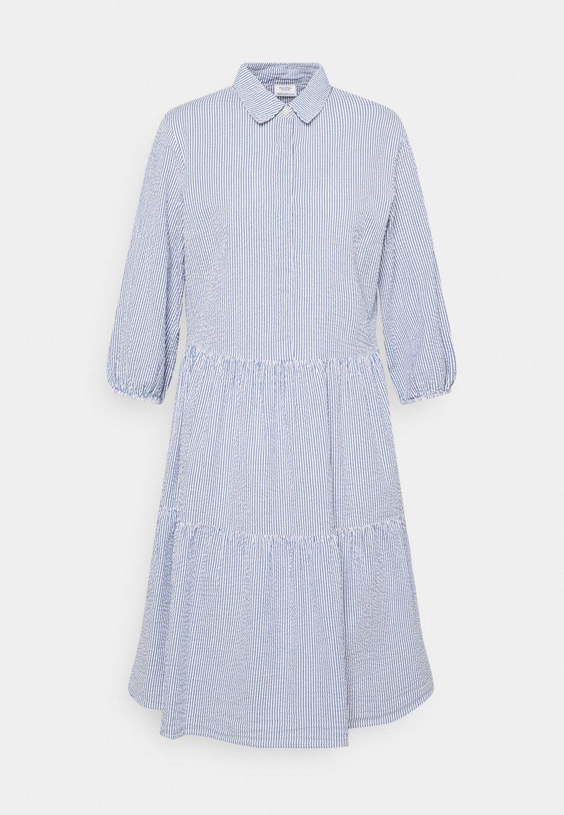 Marc O'Polo DENIM - DRESS BUTTON PLACKET - Shirt dress - intense blue