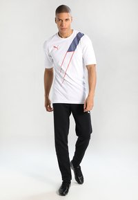 Puma - LIGA CASUALS PANTS - Pantalon de survêtement - black/white - 1