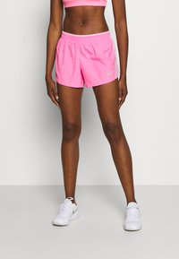 Nike Performance - kurze Sporthose - pink glow/pink rise/pink foam/wolf grey - 0