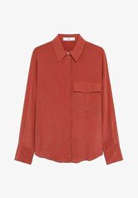 Mango - COMO - Button-down blouse - rood - 5