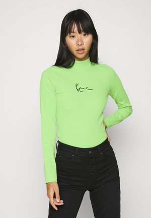 SMALL SIGNATURE TURTLE - Langarmshirt - green