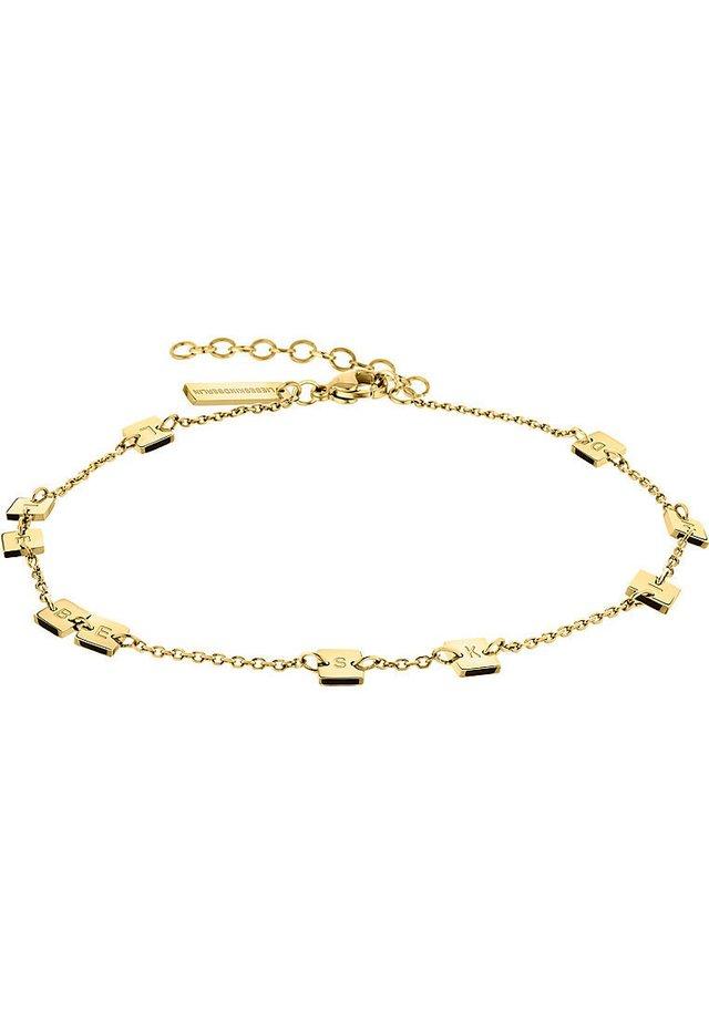 LIEBESKIND DAMEN-FUSSKETTE EDELSTAHL - Armband - gold