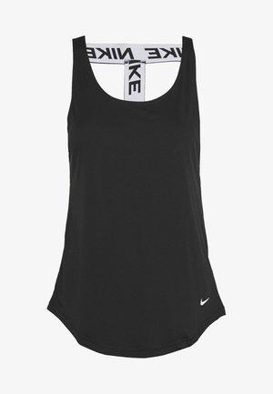 DRY VICTORY ELASTIKA TANK - T-shirt sportiva - black/reflective silver