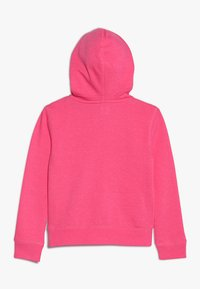 GAP - GIRLS ACTIVE LOGO - Hoodie met rits - pink jubilee - 1