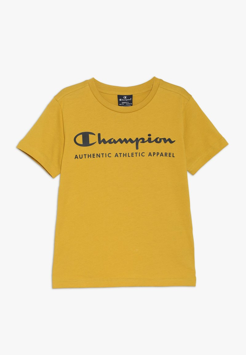 Champion - AMERICAN CLASSICS CREWNECK - Triko spotiskem - mustard yellow