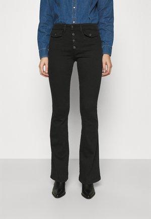 YOKO - Široké džíny - black