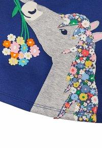 Boden - MIT GROSSER APPLIKATION - Day dress - segelblau pferd - 2