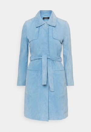 JUNA - Short coat - sky blue