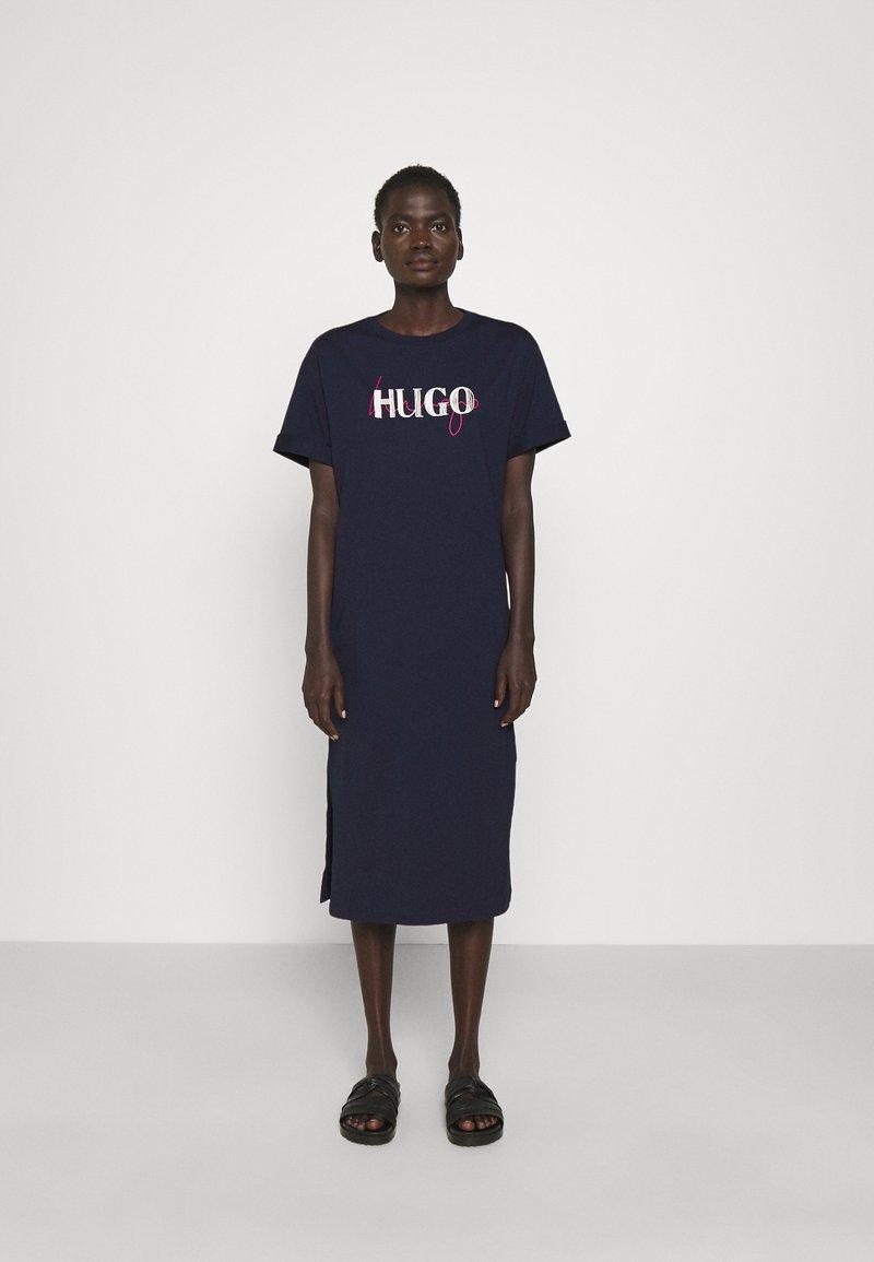 HUGO - NAILY - Maxi dress - dark blue