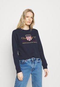 GANT - ARCHIVE SHIELD  - Sweatshirt - blue - 0