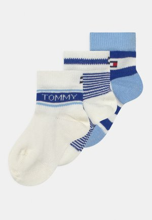 GIFTBOX 3 PACK UNISEX - Socks - blue