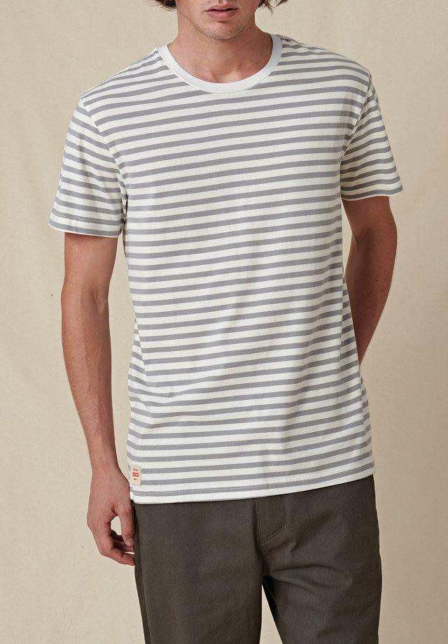 HORIZON - T-shirt imprimé - white