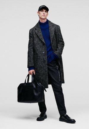 Classic coat - black gray