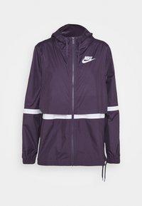 Nike Sportswear - Summer jacket - dark raisin/white - 3